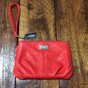 NWT Express red clutch
